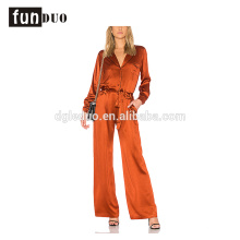 2018 new fashion women satin Jumpsuits formal jumpsuits 2018 new fashion women satin Jumpsuits formal jumpsuits