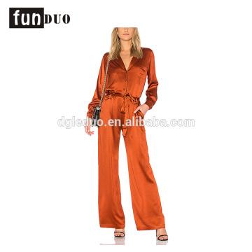 2018 nouvelles femmes de mode satin combinaisons Combinaisons formelles 2018 nouvelles femmes de mode satin combinaisons Combinaisons formelles