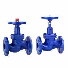 J41H/Y-16C cast steel handwheel 3 inch globe valves