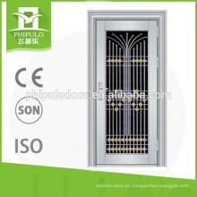 Puertas de acero inoxidable atractivas y duraderas para el diseño de hogares.