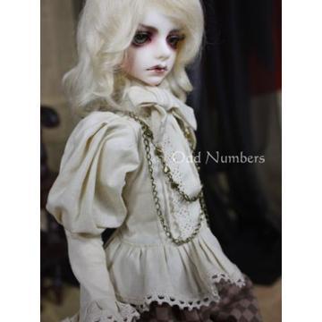 BJD Clothes Black Tea Prince2 For MSD Doll