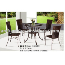 New style modern plastic outdoor furniture