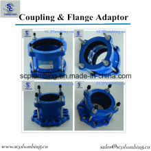 Pipe Universal Coupling Wide Range Flange Adapter