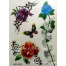 spider temporary tattoo stickers