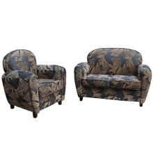 Dekoratives Polyester-Leinen sieht Stoff für Sofa aus