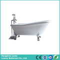 2016 Hot Acrylic Classic Freestanding Tub with Feet (LT-11T)