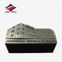 Anniversary office opening metal name card holder