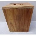 Top Quality Natural Acacia Wood Barrels, Wooden Rice Storage Bucket