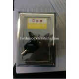 Shutter door motor stainless steel lock box