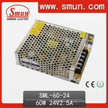 60W LED Lighting Designed for Power Supply 24V 2.5A