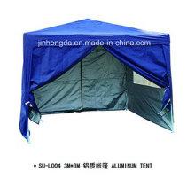 Tienda al aire libre del marco de aluminio cuadrado de la protección ULTRAVIOLETA (YSBEA0034)
