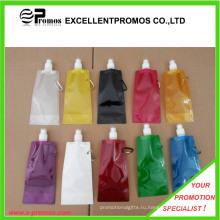 Свободная бутылка воды BPA промотирования верхняя свободная складная (EP-B8300)