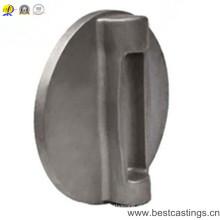 Carcaça de aço inoxidável feita sob encomenda da precisão para a placa da borboleta