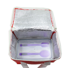 School Lunch Bento Box Insulated Cooler Bag