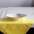 Chiffon de nettoyage en verre microfibre double face Ménage