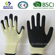 Luvas de látex, luvas de trabalho de segurança (SL-R507)