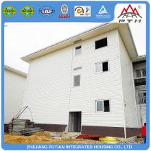Fabrik Preis Großhandel modulare Stahlkonstruktion vorgefertigte Hotelgebäude