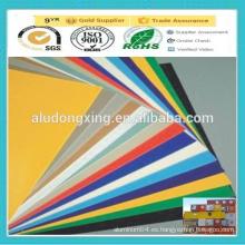 PE / PVDF revestido Decoración exterior Placa de aluminio / hoja