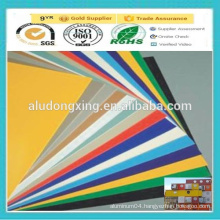 PE/PVDF coated Exterior Decoration Aluminum plate/sheet