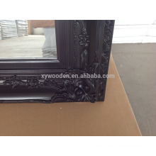 China wholesale bedroom dressing wooden pier glass