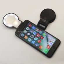 Téléphone promotionnel de Selfie du miroir LED avec le logo imprimé