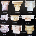 Home decor carved wood column capitals