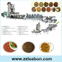 Automatic Puffed Dog Food Machine, Cat Food Exttruder