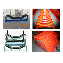 Ske Mining Conveyor Idler / Roller Spare Parts for Belt Conveyors