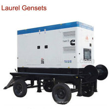 Portable Diesel Generator /Trailer Genset 25kVA Cummins Engine