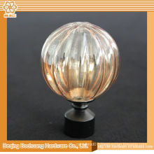 8/10/13/16/19/22/25/28mm Crystal Glass Decorative Window Curtain Finial