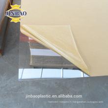 clair et couleur feuille de verre de plexi décoratif de 3mm