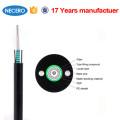 20 anos fabricante de fibra óptica fornecer multi strand cabo de fibra óptica GYXTW