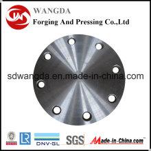 Brides de tuyau d'acier au carbone aveugles de cou de soudure d'ASME 16,5 soudées
