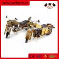 Brinquedos de madeira da motocicleta do ofício de madeira da decoração da casa