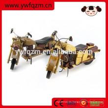 Decoración de madera artesanía de madera juguetes de motos