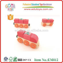 2015 Neues Mini-hölzernes Auto, Qualitäts-hölzernes Auto-Spielzeug, pädagogisches Auto für Kinder