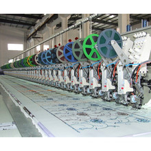 4 NEEDLE 56 HEADS EMBROIDERY MACHINE FROM LEJIA COMPANY