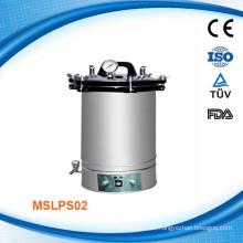 MSLPS02W Equipo de esterilización de vapor de acero para hospitales Esterilizador de vapor