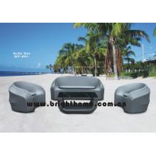 Hot Sale Rattan Wicker sofá muebles de jardín conjunto Bp-851