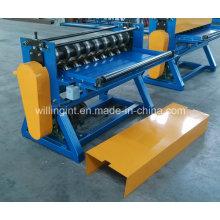 Alta velocidad de acero galvanizado simple máquina de corte