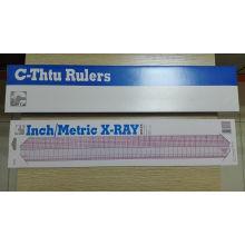 C-Thtu B-95 Inch / Metric X-ray Ruler