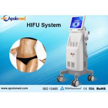 De pie Hifu eliminación de arrugas, estiramiento facial y estiramiento de la piel Hifu