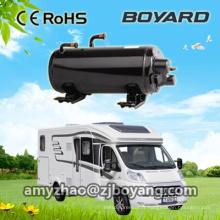 Chariot rotatif horizontal Boyard pour camping climatisé sur le toit