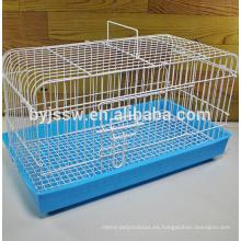 Jaula de cría de conejo durable y hermosa, jaula de transporte de conejo, jaula de conejo barata