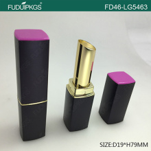 New style metalized gold lipstick container with luxury shape