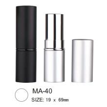 Round Aluminium Empty Lipstick Case
