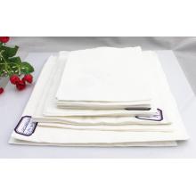 Serviettes en papier écologiques imprimées par logo de vente chaude