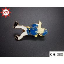 Titular de crachá de cobre personalizado na fábrica de China