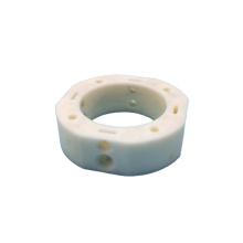 High precision alumina ceramic ring with holes