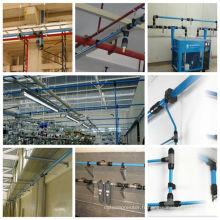Liste des spécifications des tuyaux d'air en aluminium